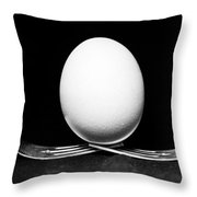 Egg Still Life Throw Pillow