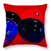 Eggs In Space? Throw Pillow