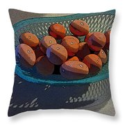 Eggs It Is Throw Pillow