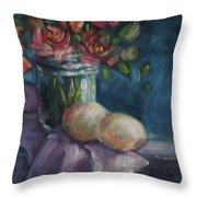 Eggs On Board Throw Pillow
