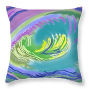 Eggs To You Throw Pillow