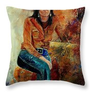 Eglantine 57 Throw Pillow