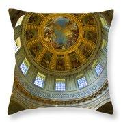 Eglise Du Dome Church Paris Throw Pillow