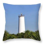 Egmont Key Florida Throw Pillow