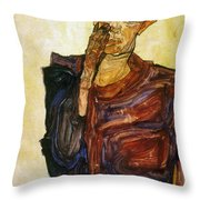 Egon Schiele (1890-1918) Throw Pillow