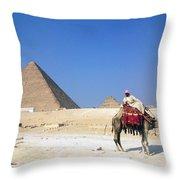 Egypt - Pyramid Throw Pillow