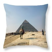 Egypt - Pyramid3 Throw Pillow