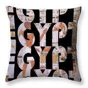 Egypt 6 Throw Pillow