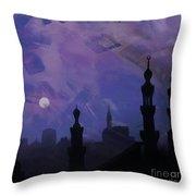Egypt Mosque  Throw Pillow