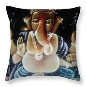 Egyptian Beauty  Throw Pillow