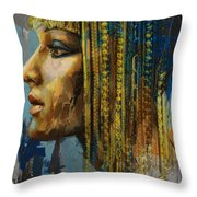 Egyptian Culture 1b Throw Pillow