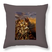 Egyptian Goddess Throw Pillow