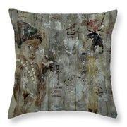 Egyptian Memories  Throw Pillow