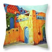 Egyptian Nubian House Throw Pillow