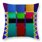 Egyptian Reggae Throw Pillow