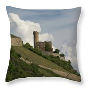 Ehrenfels Castle 04 Throw Pillow