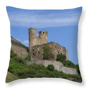 Ehrenfels Castle Squared 02 Throw Pillow