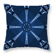 Eiffel Art 17 Throw Pillow