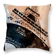 Eiffel IIi Throw Pillow