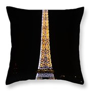 Eiffel Tour 2 Throw Pillow