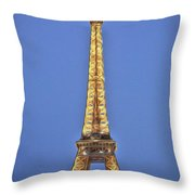 Eiffel Tower 17 Art Throw Pillow