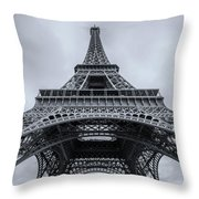 Eiffel Tower 3 Throw Pillow