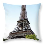 Eiffel Tower 4 Throw Pillow