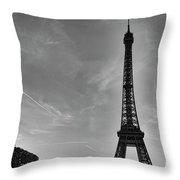 Eiffel Tower-4 Throw Pillow
