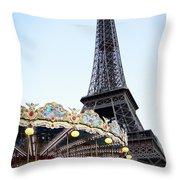 Eiffel Tower 7 Throw Pillow