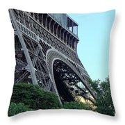 Eiffel Tower 8 Throw Pillow
