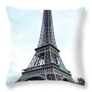 Eiffel Tower 9 Throw Pillow