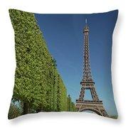 Eiffel Tower-9 Throw Pillow