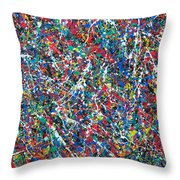 Eight-dimensional Region Of Space 5.11.13. Throw Pillow