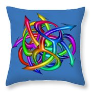 Eight Knights Of Pride Throw Pillow