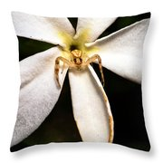 Eight Legged Goalie Throw Pillow