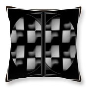 Eight On The Side Throw Pillow