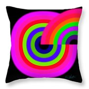 Eight State Throw Pillow