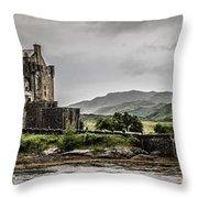 A Bonnie Wee Castle Throw Pillow