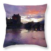 Eileen Donan Throw Pillow