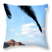 Ein Gedi Oasis In The Judean Desert Throw Pillow