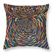Einstein's Vacuum Field Throw Pillow