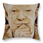 Eisenhower - The Man  Throw Pillow