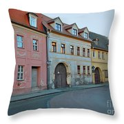 Eisleben At Dusk Throw Pillow