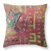 Eji Ogbe Throw Pillow
