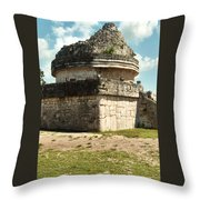 Ek Balan Ruins Throw Pillow