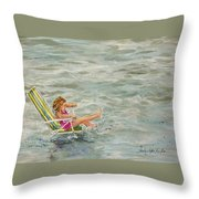 El And Water Throw Pillow