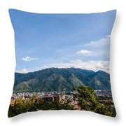 El Avila  Throw Pillow