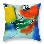 El Beso 19 Throw Pillow
