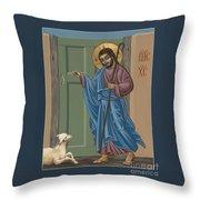 El Buen Pastor 188 Throw Pillow