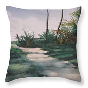El Camino De La Manana Throw Pillow